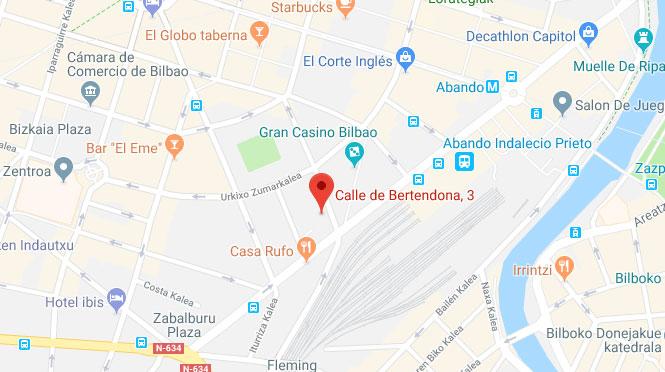 Calle bertendona 3 Bilbao Vizcaya 48008