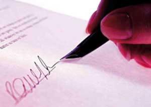 Revisión de contrato